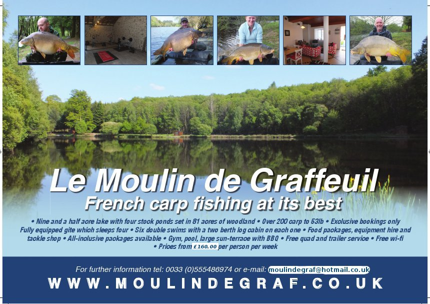 Le Moulin de Graffeuil - May 2014